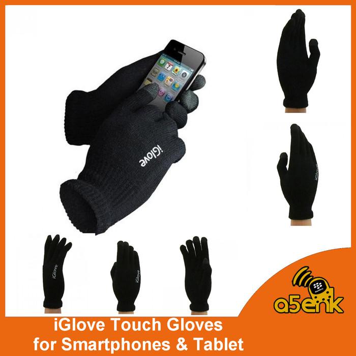 harga Iglove touch gloves smartphones tablet sarung tangan motor gadget Tokopedia.com