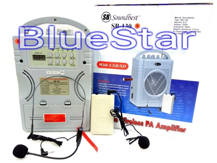 harga Speaker portable wireless meeting soundbest sb 130 Tokopedia.com