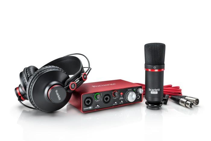 harga Focusrite scarlett studio (2nd gen) - usb audio interface bundle pack Tokopedia.com