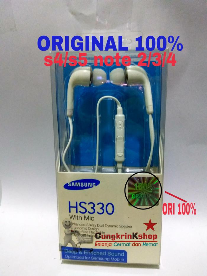 harga Headset samsung galaxy s4 s5 note 2 3 4 j1 j2 j3 j5 j7 original 100% Tokopedia.com