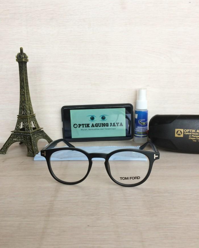 Jual (Frame+Lensa) Frame Kacamata Tomford Hitam Doff  6236bf13ab