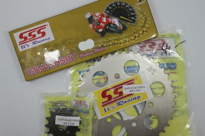 harga Gear set sss kawasaki ninja rr & r 150 415 (tipis) Tokopedia.com