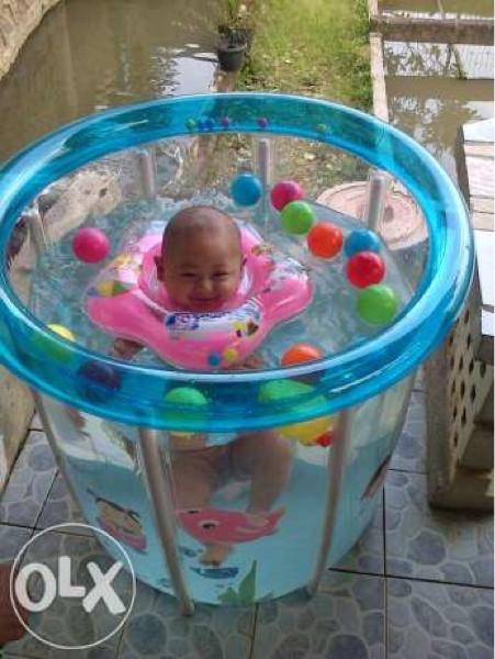 harga Kolam bayi / spa baby flow transparan full gambar - swimming pool anak Tokopedia.com