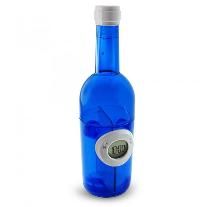 harga Jam meja tenaga air - digital water power clock - wine bottle Tokopedia.com