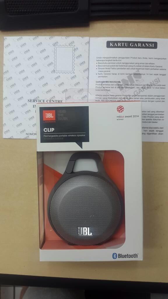 Foto Produk Mini Speaker Bluetooth Portable JBL CLIP Micro wereless (Grey) dari Alien Global Store