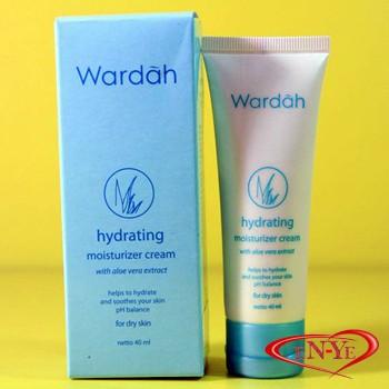 Wardah Hydrating Moisturizer Cream - Krim Pelembab - 40 gr