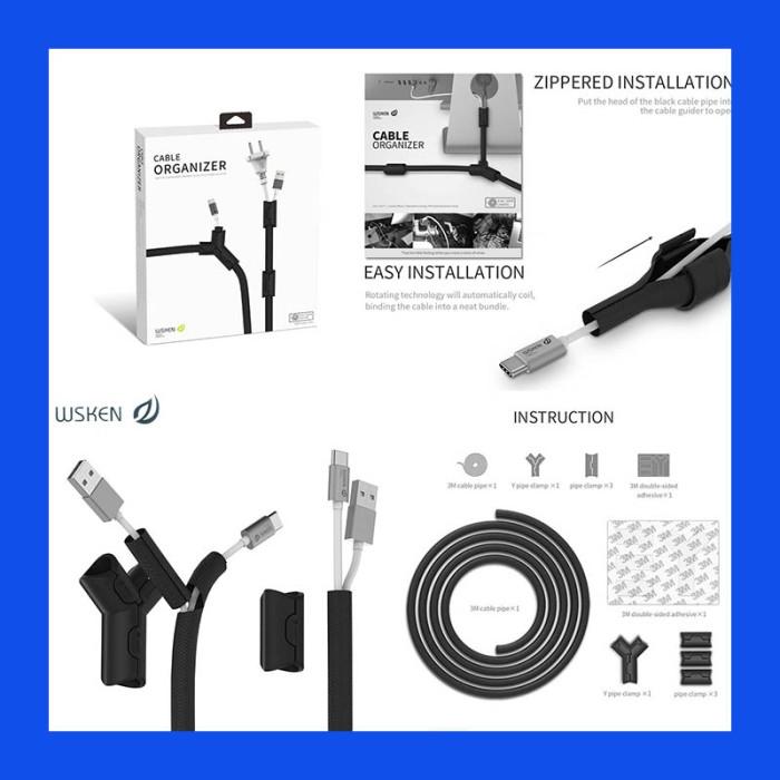 harga Wsken cable organizer Tokopedia.com