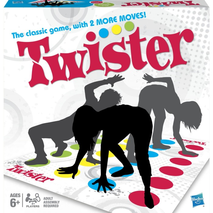 harga Twister board game original hasbro Tokopedia.com