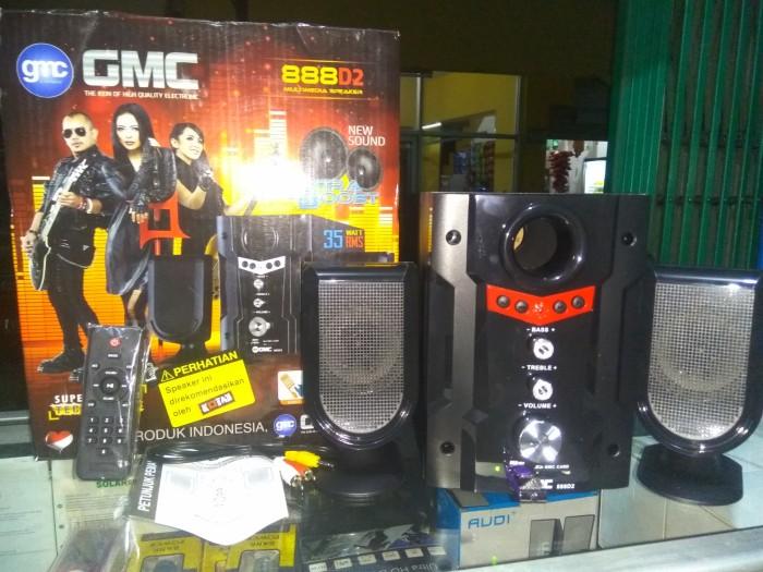 harga Speaker gmc 888 d2 / speaker multimedia gmc Tokopedia.com