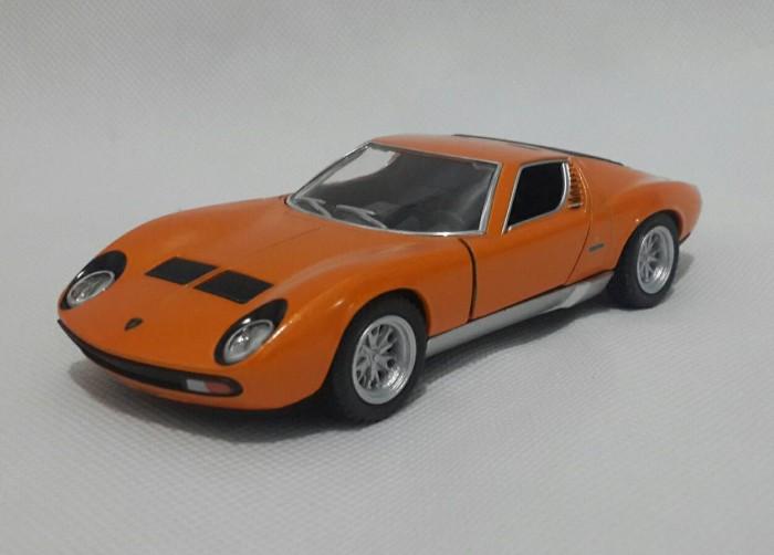 Jual Miniatur Lamborghini Miura P400 Sv Orange Diecast Lamborghini