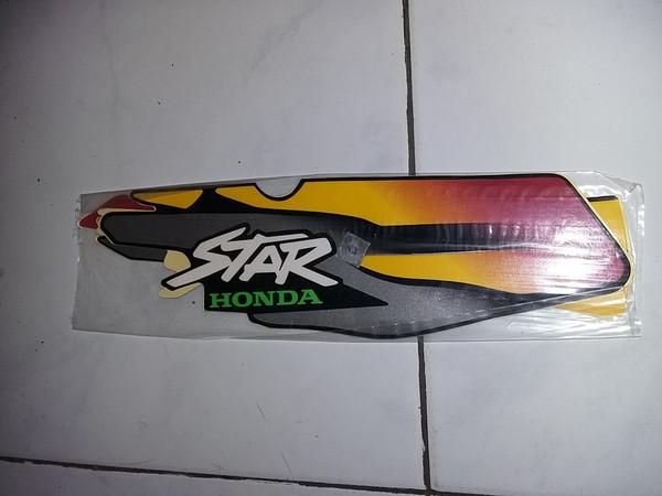 Jual Striping Sticker Lis Motor Standar Astrea Star 1997 Merah