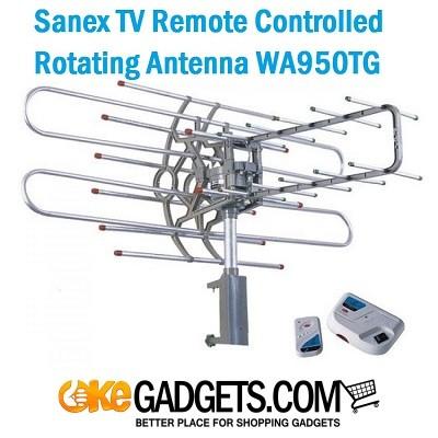 Foto Produk Sanex Antena Outdoor TV + Remote WA-950 TG dari Okegadgets
