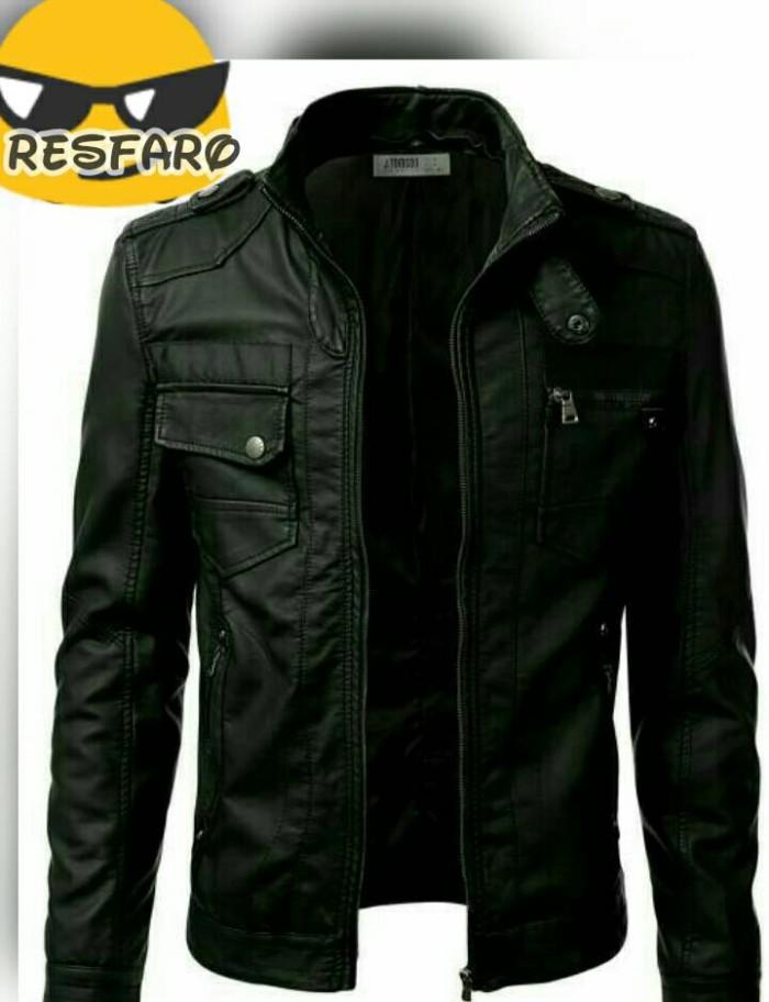 Jual jaket pria semi kulit jaket motor jaket casual - Yadi SHOP ... b99816162d