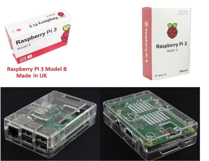 harga Raspberry pi 3 model b + abs case transparan Tokopedia.com