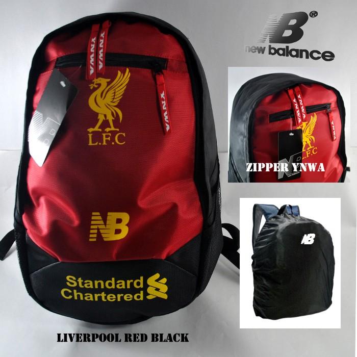 harga Tas ransel newbalance liverpool red black (free raincover) Tokopedia.com