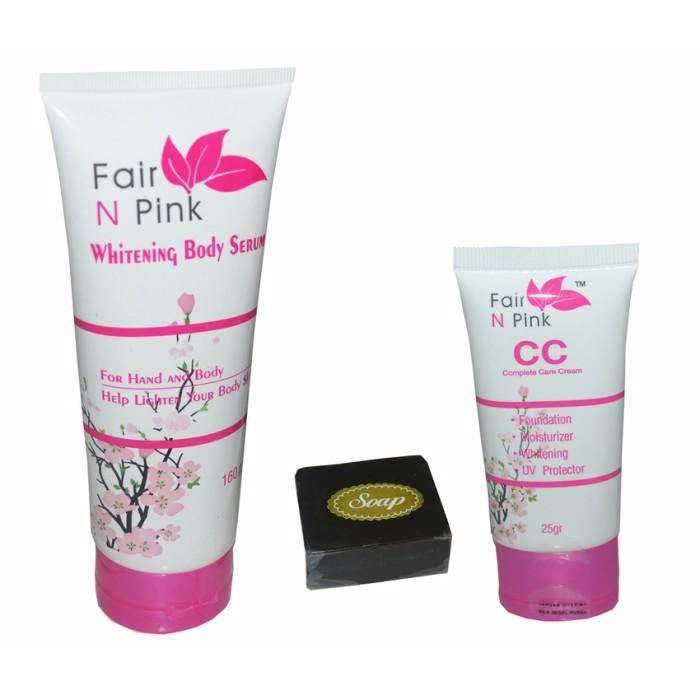 Fair N Pink - Paket Shining & Glutacol - 1 Paket