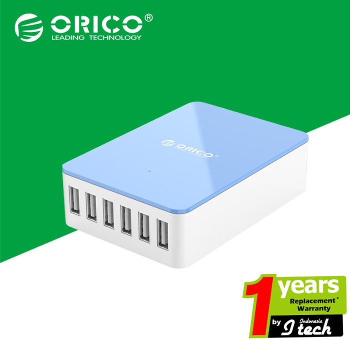 harga Rico csa-6u 6-port desktop charger Tokopedia.com