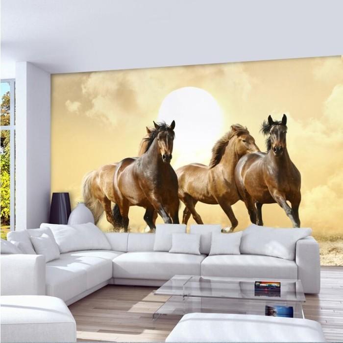 Jual Wallpaper Dinding Model Kuda Berlari Untuk Ruang Tamu Kota Pontianak Usaha Jaya Raya Tokopedia