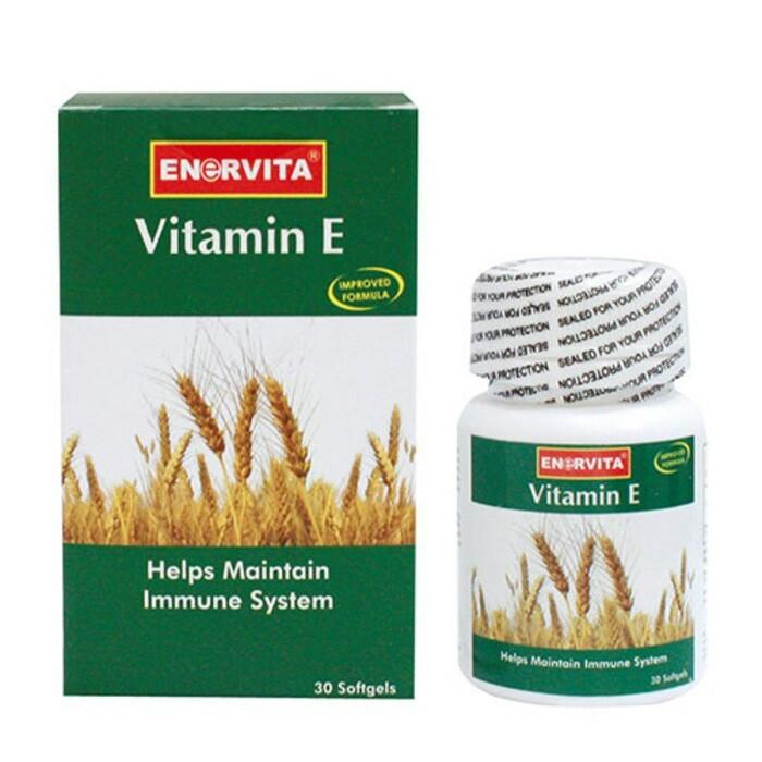 harga Enervita vitamin e 200 iu isi 30 Tokopedia.com