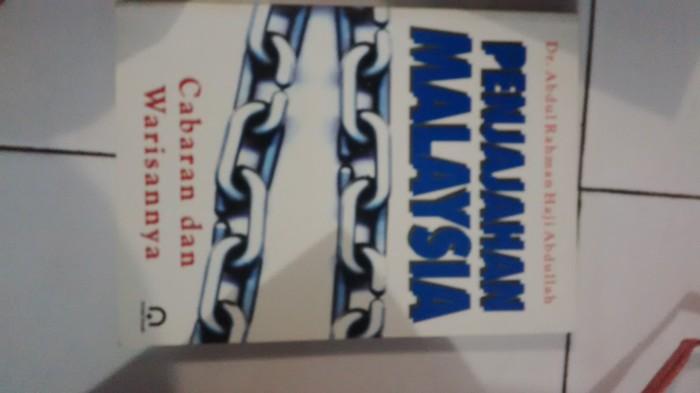 Jual Buku Penjajahan Malaysia Dr Abdul Rahman Haji Abdullah Kota Malang Pustaka Hidayah