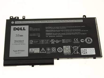 Jual Baterai Original Dell Latitude 12 5000, E5250, E5450, E5550 RYXXH - Kota Bekasi - Juwara Notebook | Tokopedia