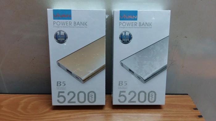 POWER BANK VIVAN B5 (5200 MAH) ORIGINAL
