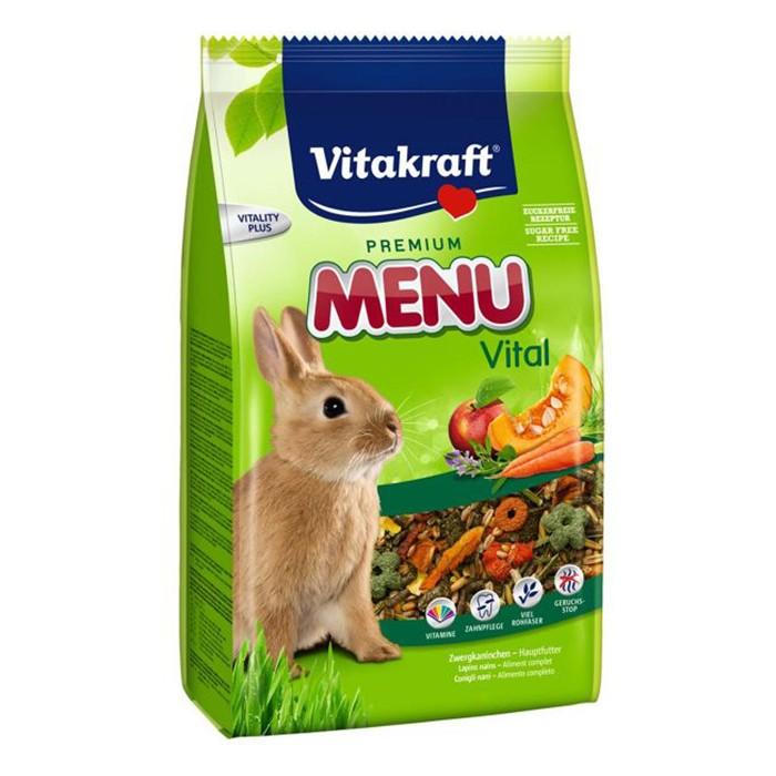 Foto Produk Vitakraft Rabbit Menu Vital 3kg Makanan Kelinci dari Hime petshop