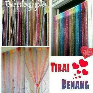 Foto Produk TIRAI BENANG GLITER PELANGI dari Melipir Store