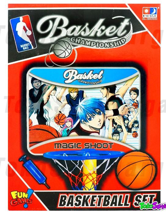 Mainan ring basketball set anak championship | bola basket ...