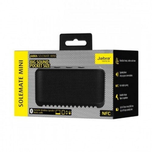 harga Jabra solemate mini wireless bluetooth portable speaker - black Tokopedia.com
