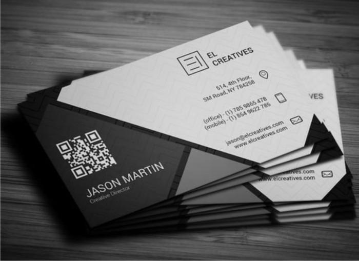 10+ Ide Elegan Desain Kartu Nama - Fatiha Decor