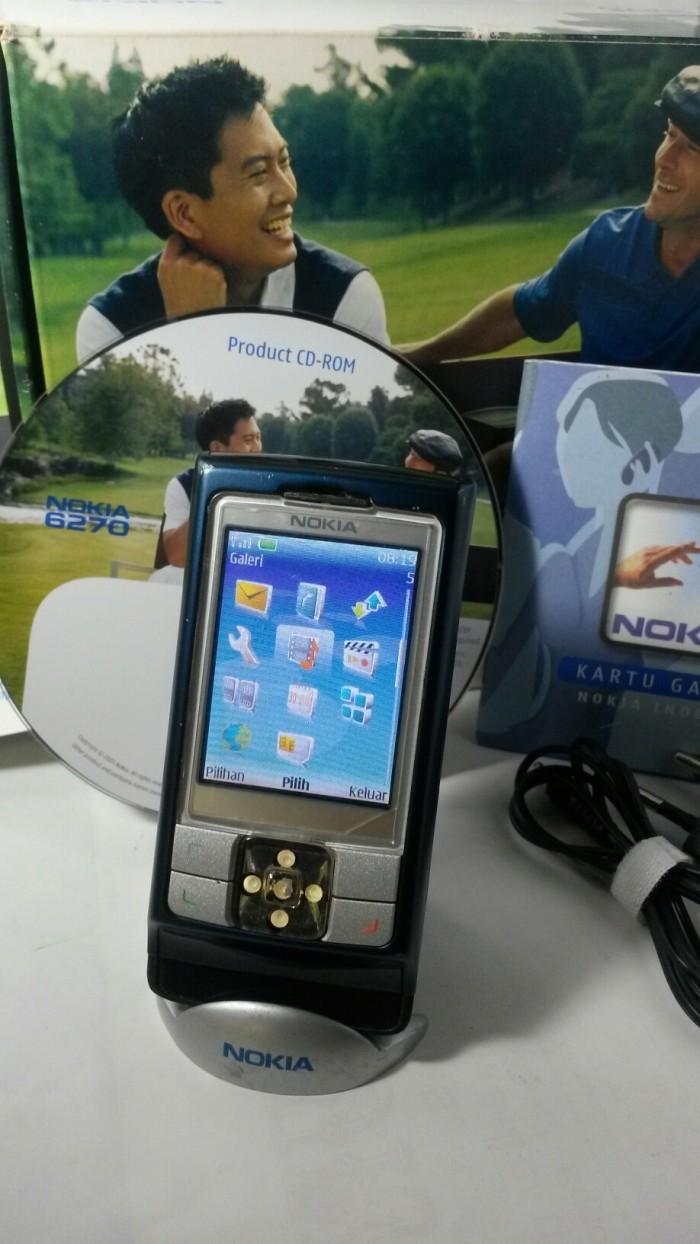 Foto Produk Nokia 6270 slide jadul dari wan amir