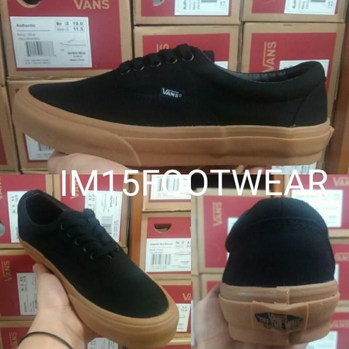Jual Sepatu Pria Vans Era Black Gum Wafle DT BNIB Premium ... 11c8b0f134