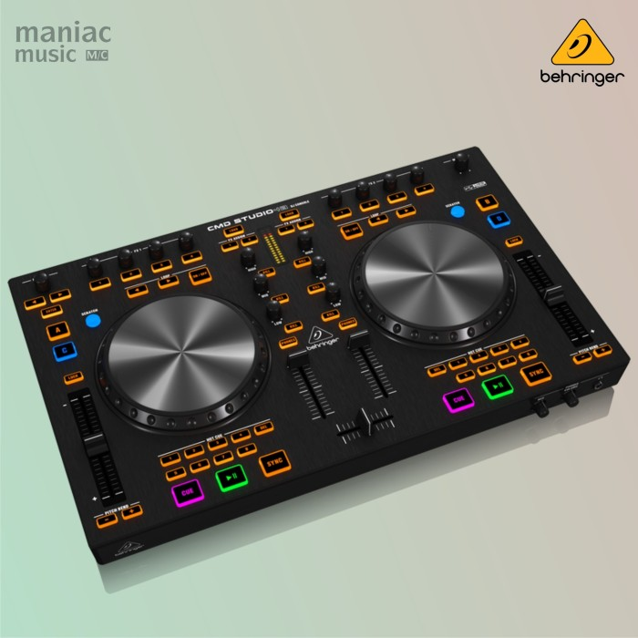 harga Behringer cmd studio 4a (alat dj 4-deck soundcard midi controller) Tokopedia.com