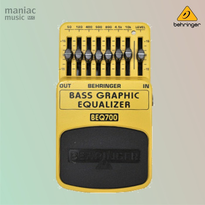harga Behringer beq700 (bass graphic equalizer 7-band pedal efek stompbox) Tokopedia.com