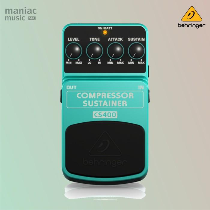 harga Behringer cs400 (compressor sustainer dynamics pedal efek stompbox) Tokopedia.com