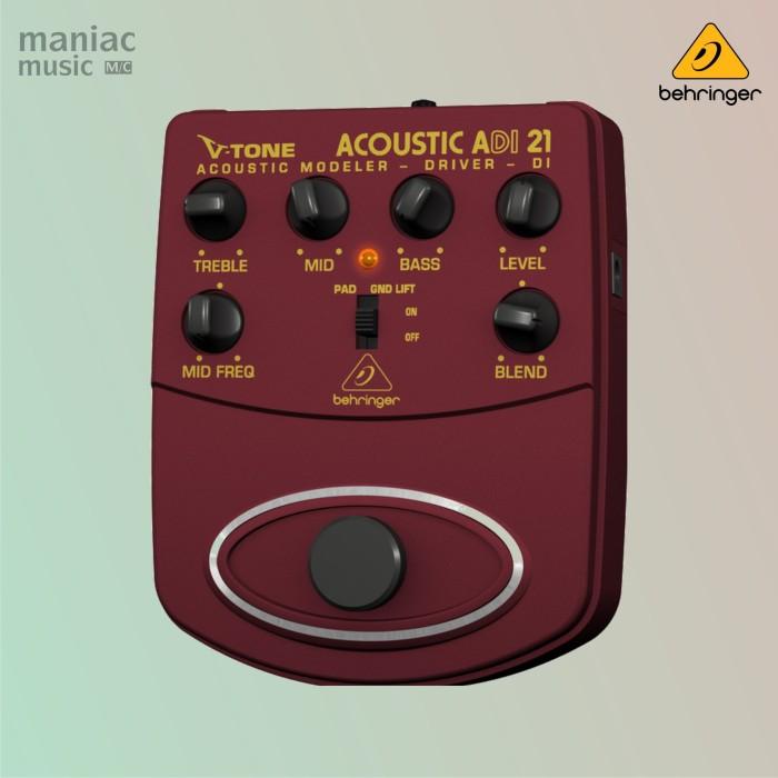 harga Behringer adi-21 (acoustic amp modeler di box pedal efek stompbox) Tokopedia.com