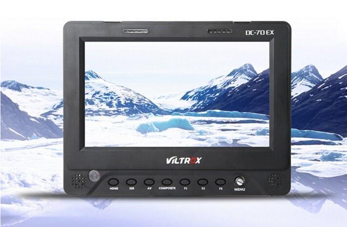 harga Viltrox dc-70 ex 7in pro high-definition sdi hdmi yuv av 7  monitor Tokopedia.com