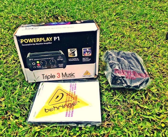 harga Behringer p1 personal in-ear monitor amplifier (bukan wireless!!!) Tokopedia.com