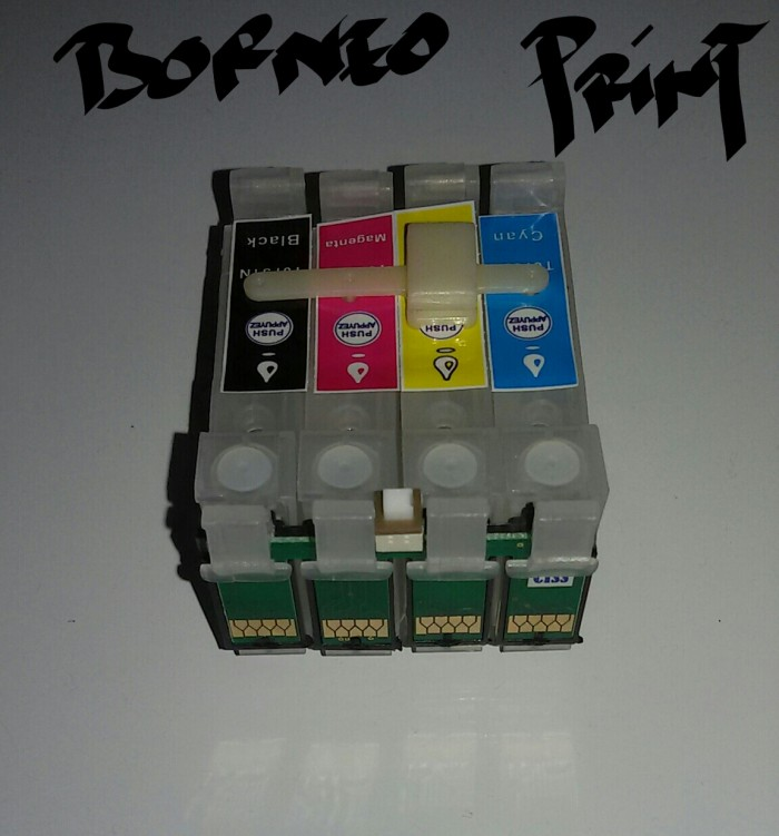 harga Ciss cartridge infuss epson t13 / t13x / t11 / c90 new Tokopedia.com