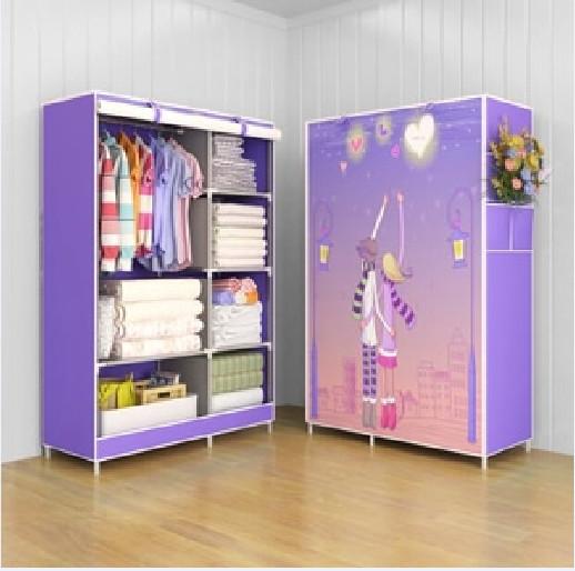 harga Lemari pakaian motif violet love Tokopedia.com