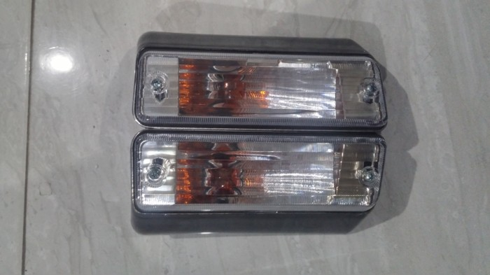 harga Lampu Sein Bumper Mobil Kijang Grand Kristal Kg 913 Tokopedia.com