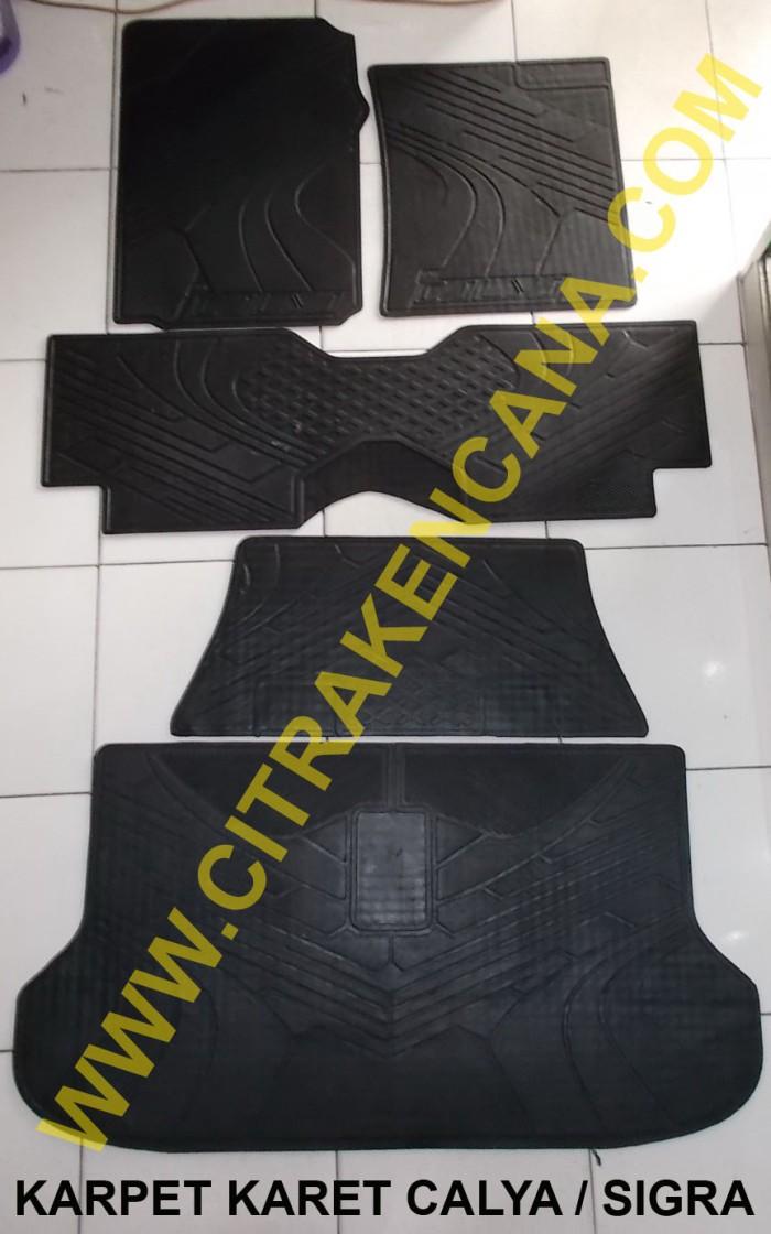 Karpet Karet Calya / Sigra - Blanja.com