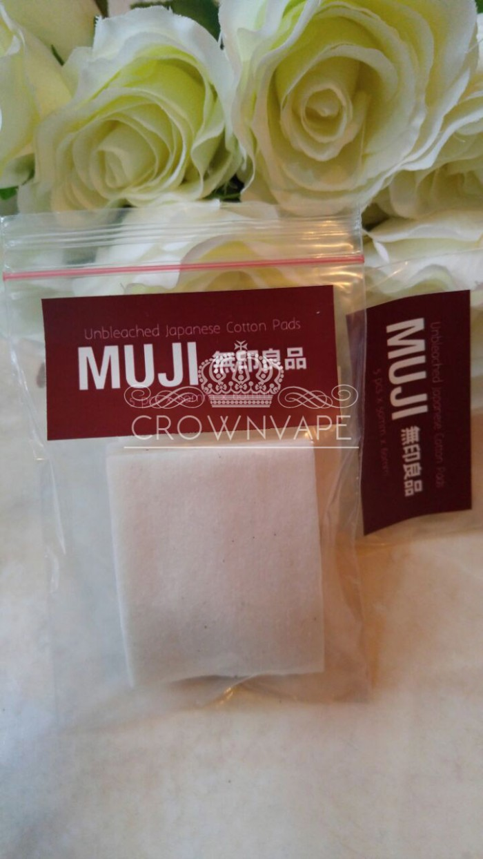 Jual Muji Cotton Japanese Organic Kapas Organik Utk Vape Crown For 5 Pads