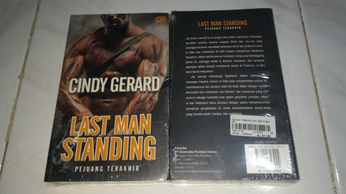 harga Novel dewasa cindy gerard last man standing pejuang terakhir Tokopedia.com