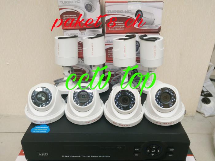 Paket 8 ch hikvision oem hd turbo 2mp/full hd 1080p