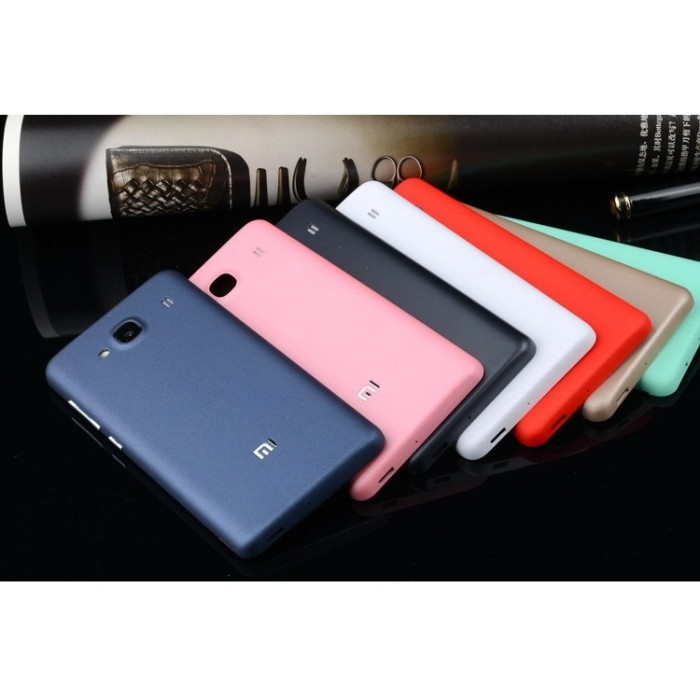 promo code a3de8 93788 Jual matte Battery Back Cover Backcover Casing Case Xiaomi Redmi 2 / Prime  - Zero Two One | Tokopedia