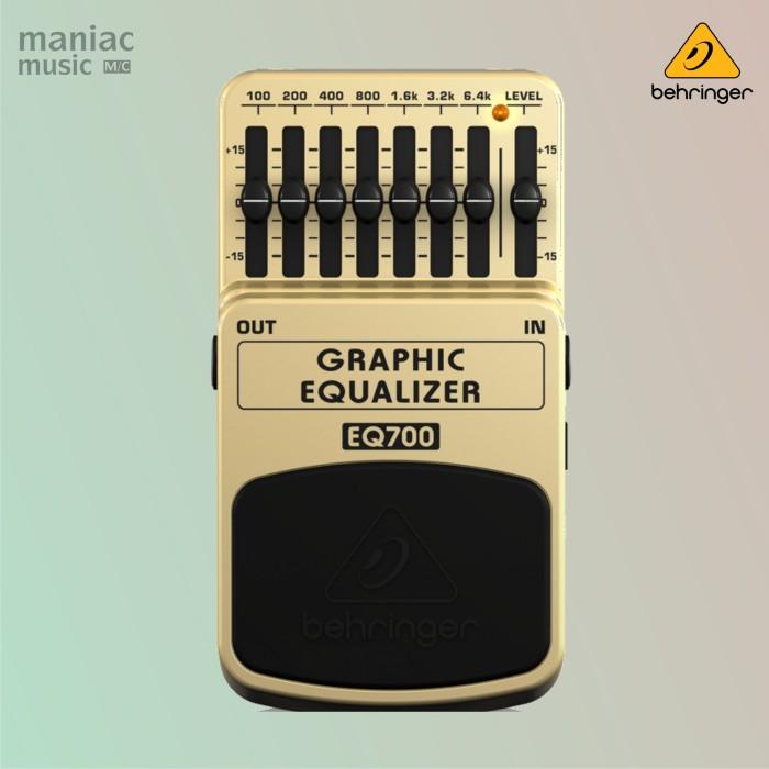 harga Behringer eq700 (graphic equalizer 7-band pedal efek stompbox) Tokopedia.com