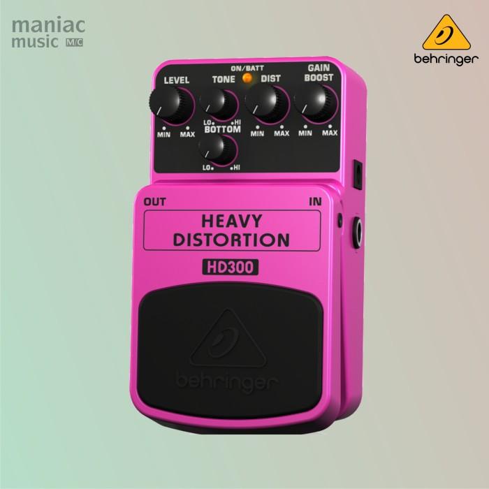 harga Behringer hd300 (heavy distortion pedal efek stompbox) Tokopedia.com