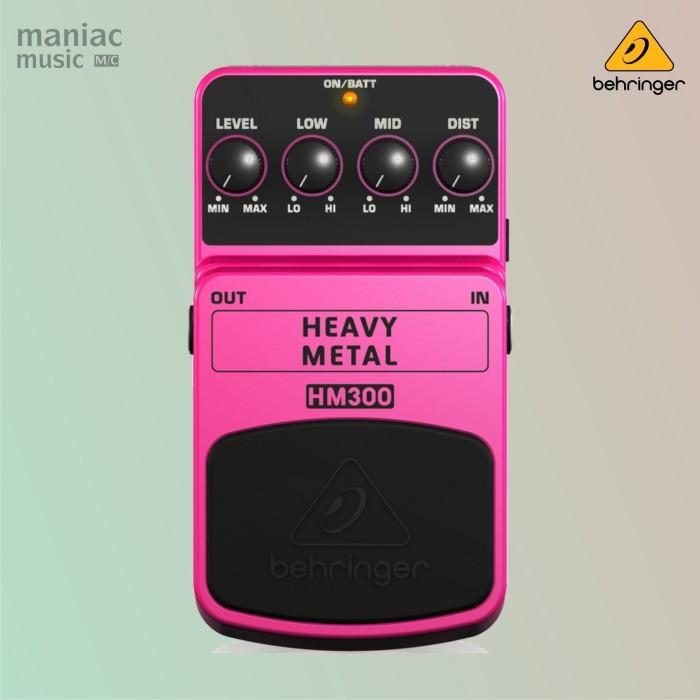 harga Behringer hm300 (heavy metal distortion pedal efek stompbox) Tokopedia.com